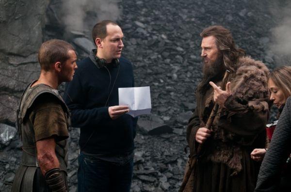 Sam Worthington, Louis Leterrier und Liam Neeson in...anen'