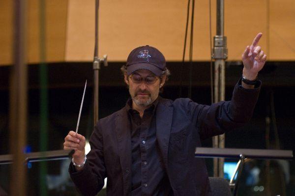 James Horner bei den Aufnahmen zu Avatar