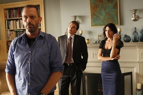 Hugh Laurie, Lisa Edelstein und Robert Sean Leonard...fel)'