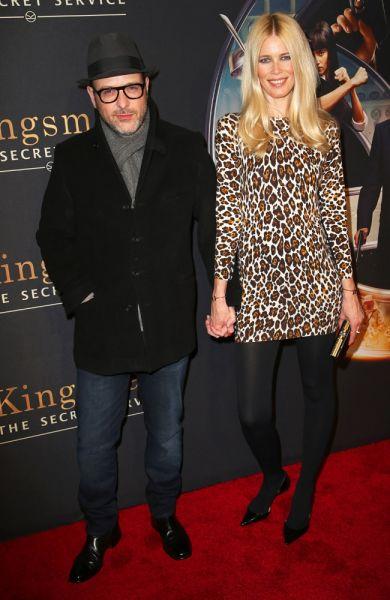 Matthew Vaughn und Claudia Schiffer